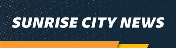 Sunrise City News Header