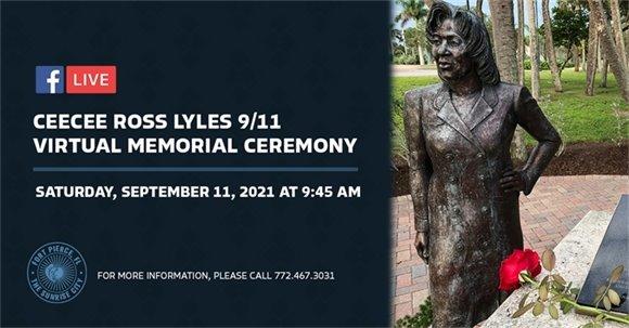 CeeCee Ross Lyles Virtual Memorial Ceremony_Header