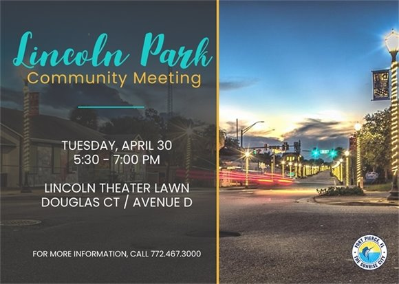 Lincoln Park Pop-up Community Meeting