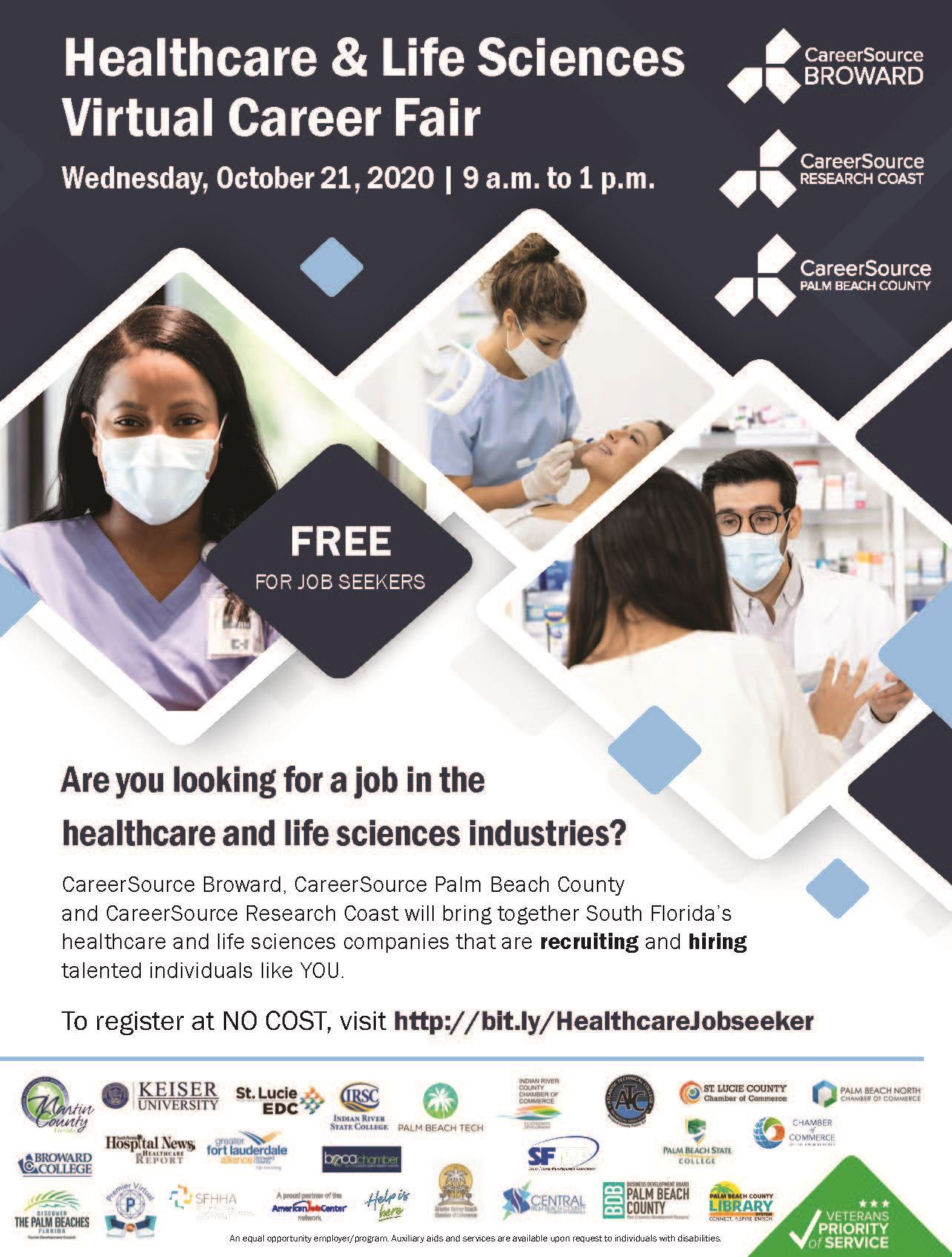 Healthcare and Life Sciences Virtual Career Fair_Job Seeker_WithLogos_web
