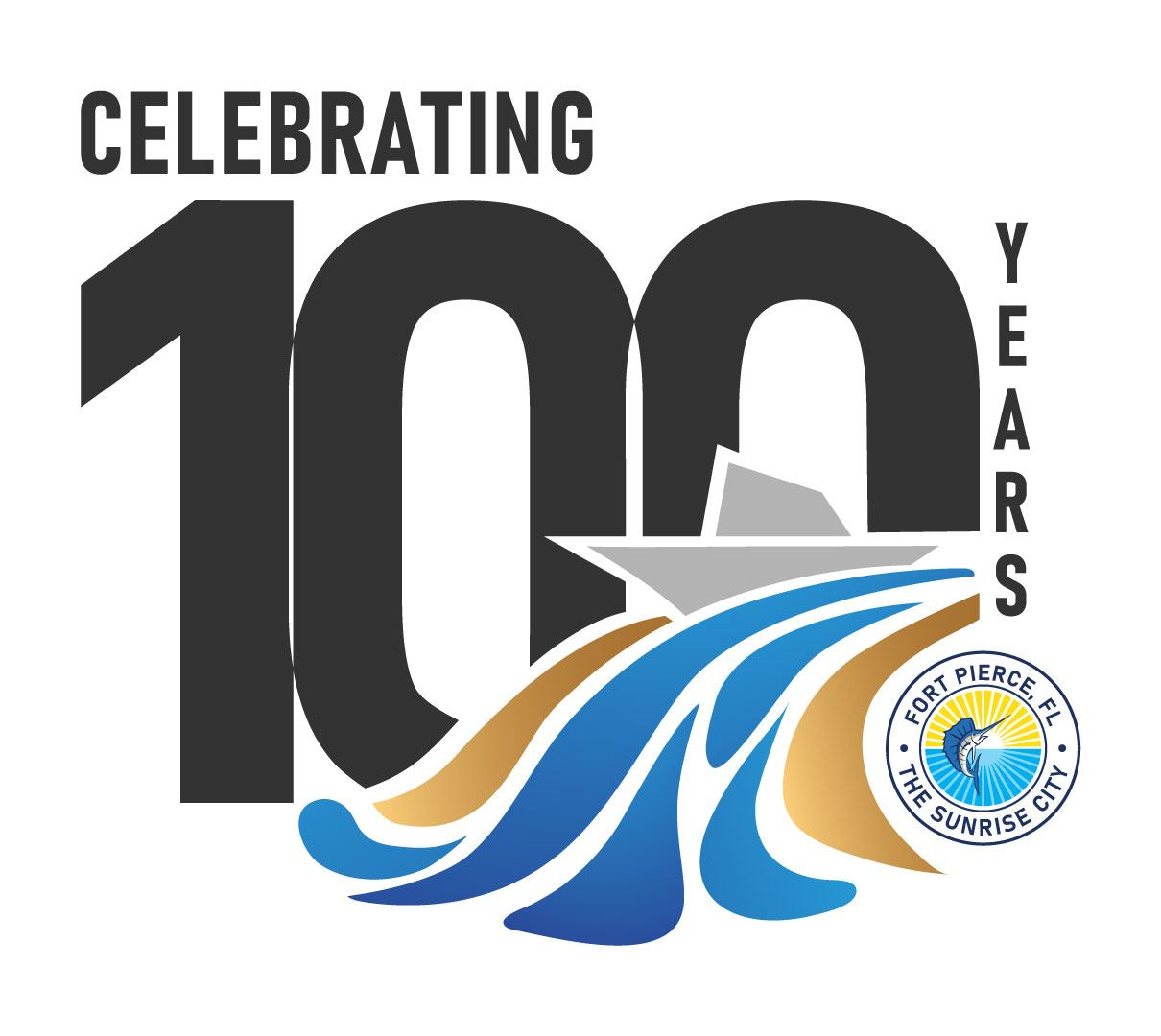 100-Year-Fort-Pierce-Logo