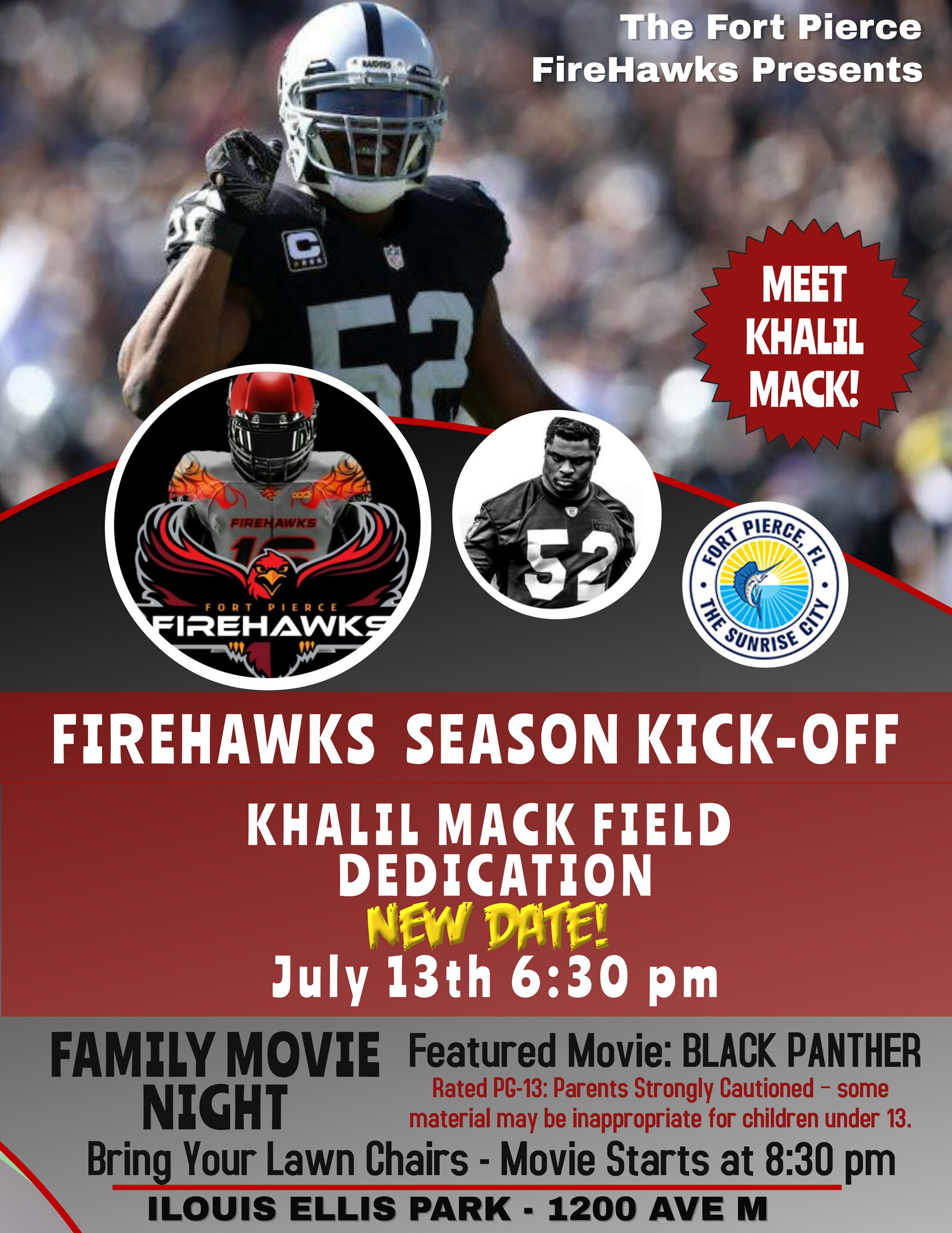 Khalil Mack Flyer Revised Date