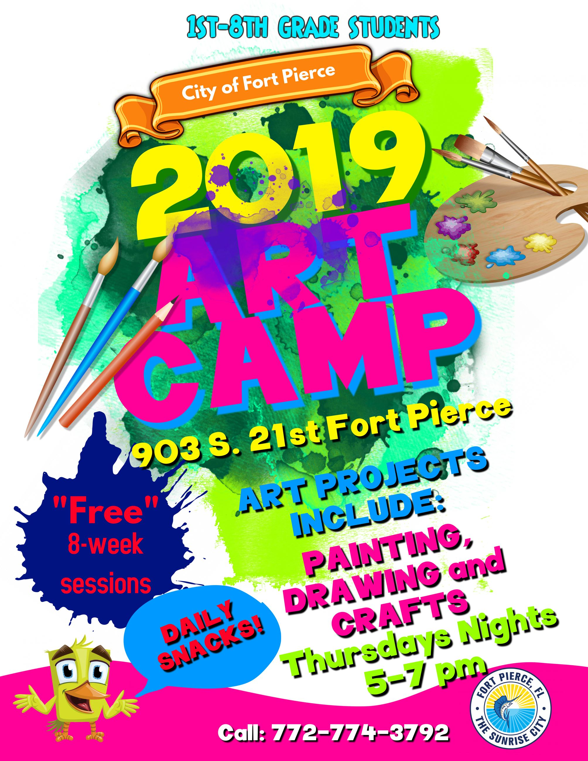 Art Camp Flyer