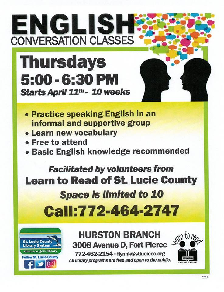 Learn to Read flyer