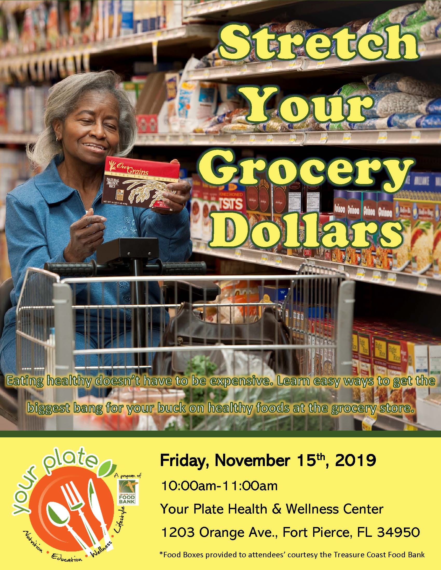 Stretch your grocery dollars PDF